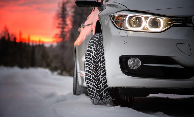 шипованное авто фото зимой Украина запрет шипов