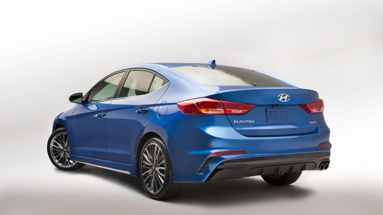 Hyundai Elantra Sport первые фото