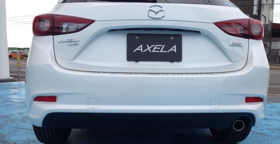 Mazda3 новые фото