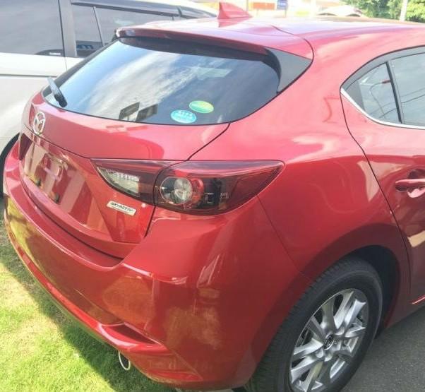 Mazda3 обновленная